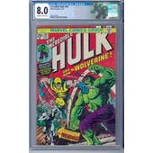 Incredible Hulk #181 CGC 8.0 (OW-W) *2067742001*