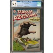 Strange Adventures #110 CGC 5.5 (C-OW) *2068098008*