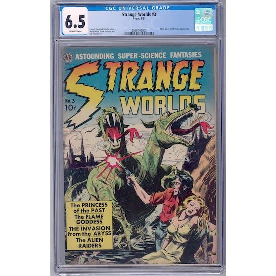 Strange Worlds #3 CGC 6.5 (OW) *2068102003*