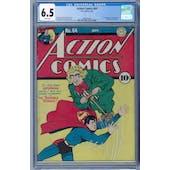 Action Comics #64 CGC 6.5 (W) *2068107001*