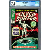Silver Surfer #1 CGC 7.5 (OW-W) *2068129001*
