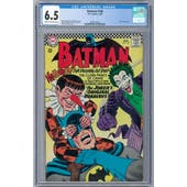 Batman #186 CGC 6.5 (C-OW) *2068132002*