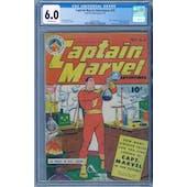 Captain Marvel Adventures #25 CGC 6.0 (OW) *2068132003*