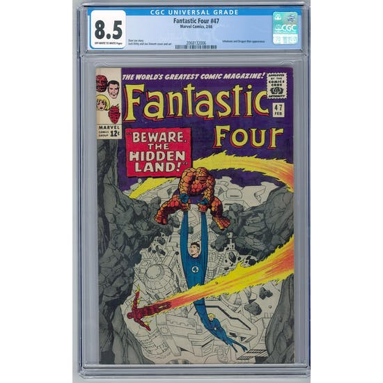 Fantastic Four #47 CGC 8.5 (OW-W) *2068132006*