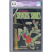 Strange Suspense Stories #16 CGC 5.5 (OW) Restored *2068132015*