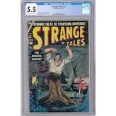 Strange Tales #32 CGC 5.5 (OW-W) *2068132016*