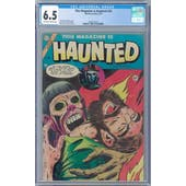 This Magazine Is Haunted #20 CGC 6.5 (OW-W) *2068132019*