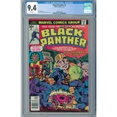 Black Panther #1 CGC 9.4 (W) *2068133001*