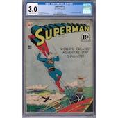 Superman #7 CGC 3.0 (SB) *2068135002*