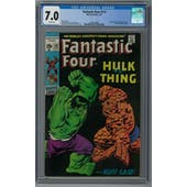 Fantastic Four #112 CGC 7.0 (W) *2068155004*