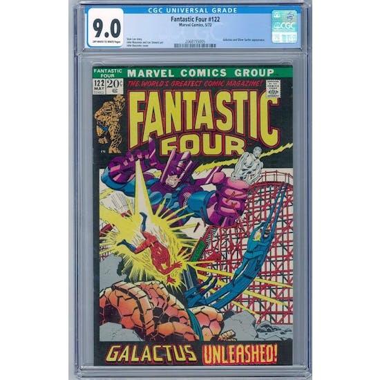 Fantastic Four #122 CGC 9.0 (OW-W) *2068155005*
