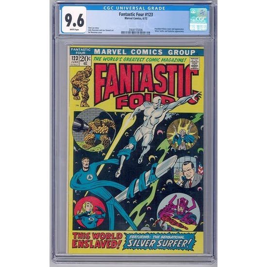 Fantastic Four #123 CGC 9.6 (W) *2068155006*