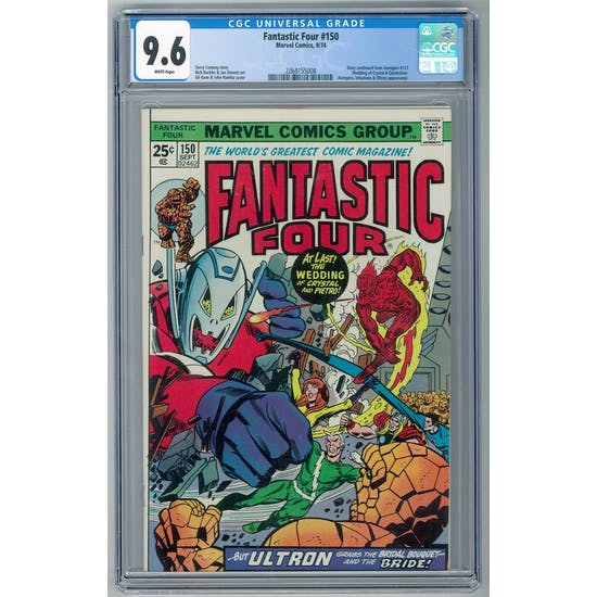 Fantastic Four #150 CGC 9.6 (W) *2068155008*
