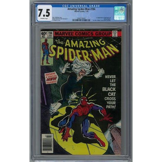 Amazing Spider-Man #194 CGC 7.5 (OW) *2068156004*