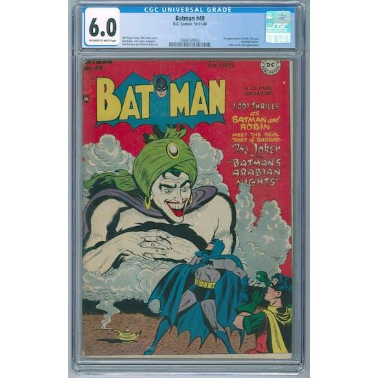 Batman #49 CGC 6.0 (OW-W) *2068164002*