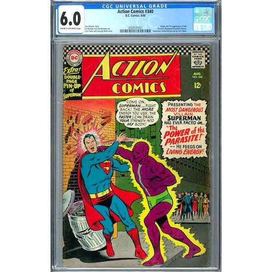 Action Comics #340 CGC 6.0 (C-OW) *2068597001*