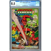 Justice league of America #64 CGC 8.5 (C-OW) *2068597007*