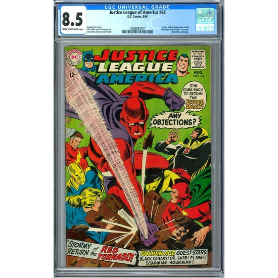 Justice league of America #64 CGC 8.5 (C-OW) *2068597007*