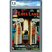 Superman's Girl Friend Lois lane #106 CGC 7.5 (OW-W) *2068597008*