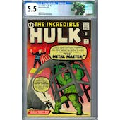 Incredible Hulk #6 CGC 5.5 (OW-W) *2070241001*
