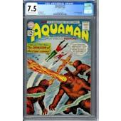 Aquaman #1 CGC 7.5 (OW-W) *2070261002*