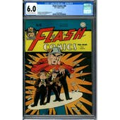 Flash Comics #69 CGC 6.0 (OW-W) *2071292001*