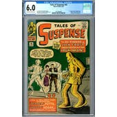 Tales of Suspense #45 CGC 6.0 (OW-W) *2072389006*