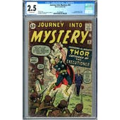 Journey Into Mystery #84 CGC 2.5 (OW) *2072389007*