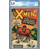 X-Men #4 CGC 2.5 (OW) *2072389009*