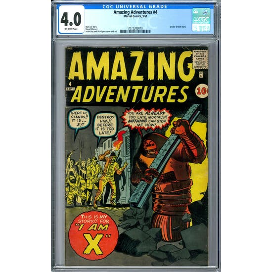 Amazing Adventures #4 CGC 4.0 (OW) *2072389010*