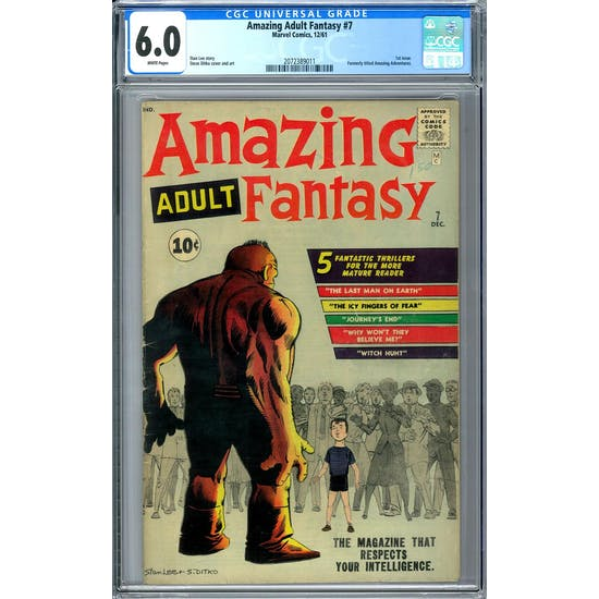 Amazing Adult Fantasy #7 CGC 6.0 (W) *2072389011*