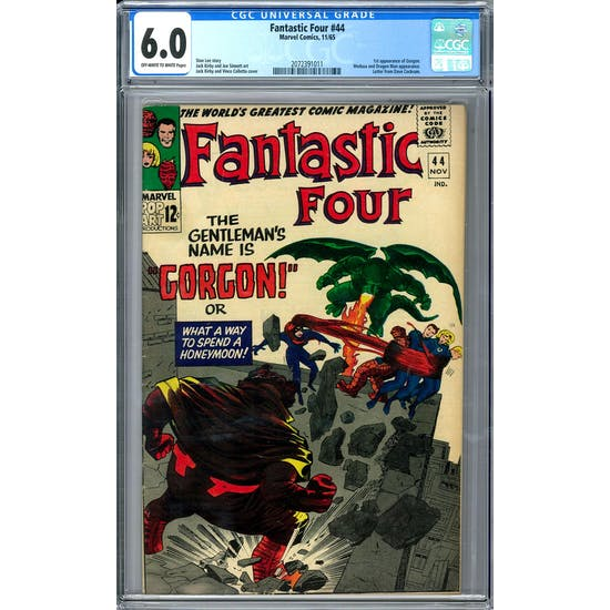 Fantastic Four #44 CGC 6.0 (OW-W) *2072391011*