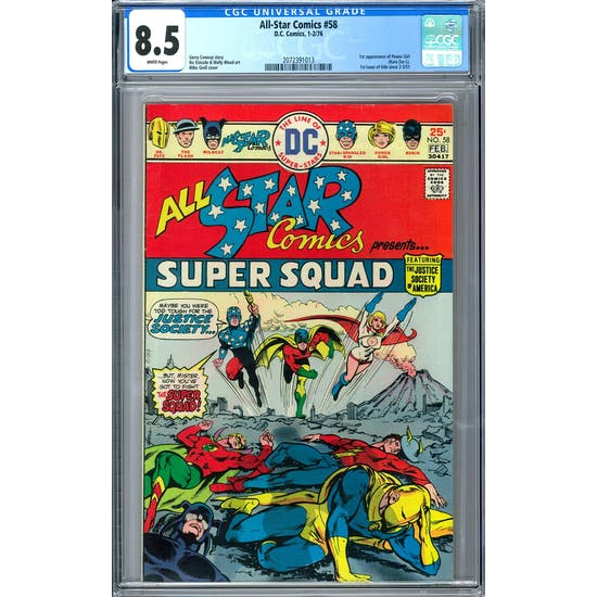 All-Star Comics #58 CGC 8.5 (W) *2072391013*
