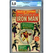 Tales of Suspense #57 CGC 5.0 (OW) *2072391016*