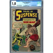 Tales of Suspense #40 CGC 1.8 (OW) *2072391017*