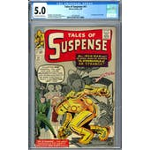 Tales of Suspense #41 CGC 5.0 (OW-W) *2072391018*