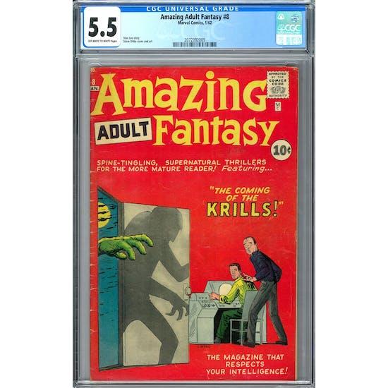 Amazing Adult Fantasy #8 CGC 5.5 (OW-W) *2072392009*