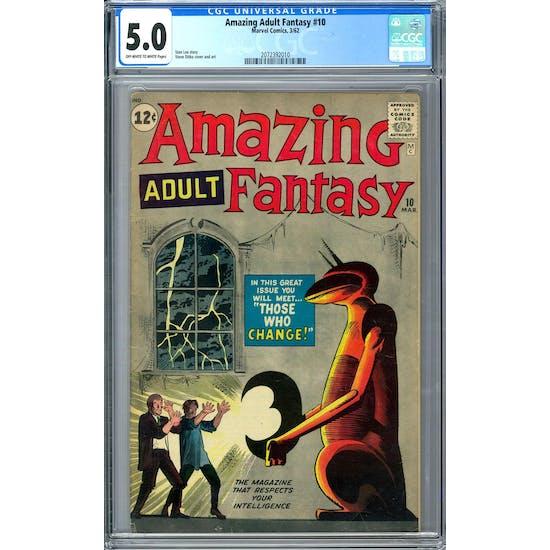 Amazing Adult Fantasy #10 CGC 5.0 (OW-W) *2072392010*