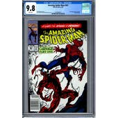Amazing Spider-Man #361 CGC 9.8 (W) *2072393013*