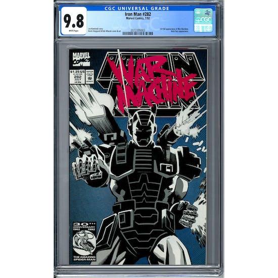 Iron Man #282 CGC 9.8 (W) *2072395003*