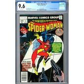 Spider-Woman #1 CGC 9.6 (W) *2072395005*