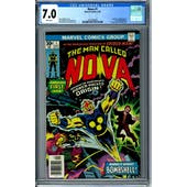 Nova #1 CGC 7.0 (W) *2072395006*