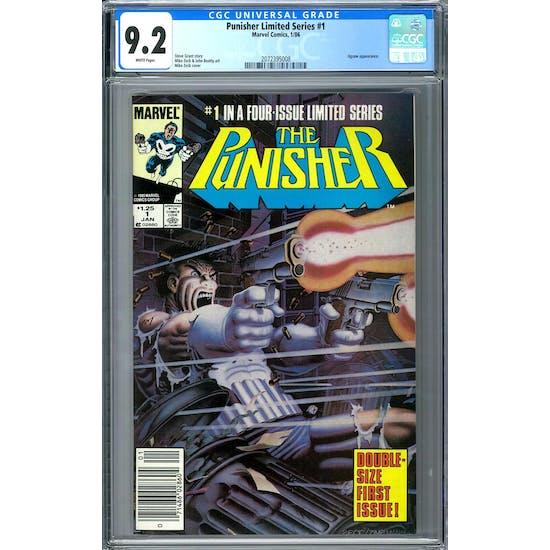 Punisher Limited Series #1 CGC 9.2 (W) *2072395008*