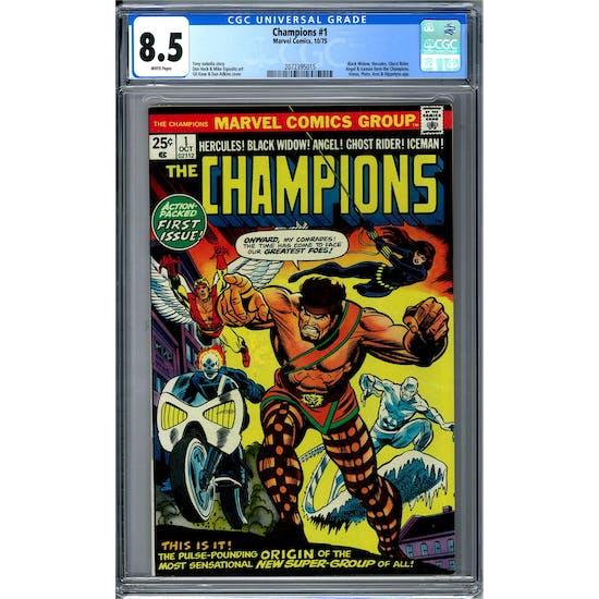 Champions #1 CGC 8.5 (W) *2072395015*