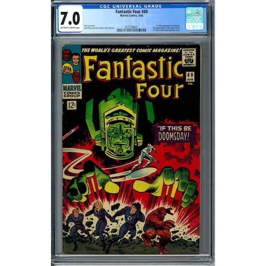 Fantastic Four #49 CGC 7.0 (OW-W) *2072396001*
