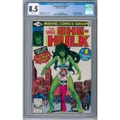 Savage She-Hulk #1 CGC 8.5 (W) *2072623002*