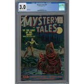 Mystery Tales #49 CGC 3.0 (C-OW) *2072624010*
