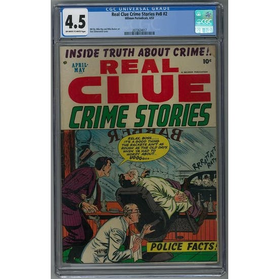 Real Clue Crime Stories #v8 #2 CGC 4.5 (OW-W) *2072624017*