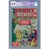 Avengers #1 CGC 6.0 (OW) Restored *2073126001*