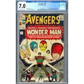 Avengers #9 CGC 7.0 (OW-W) *2073127003*
